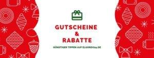 Weihnachtslotterie Gutscheine & Rabatte