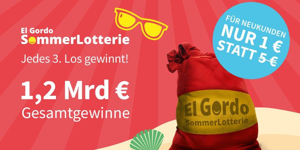 Sommerlotterie Gutschein 1 euro